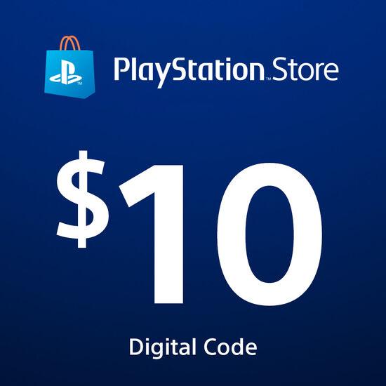 PlayStation®Store Code: $10PlayStation®Store Code: $10