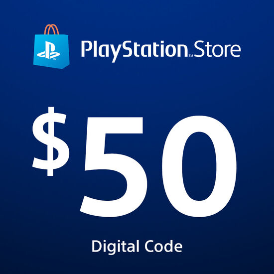 PlayStation®Store Code: $50PlayStation®Store Code: $50