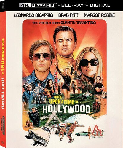 Once Upon A Time In Hollywood - 4K/Blu-ray/DVD Combo + Digital, , hi-res