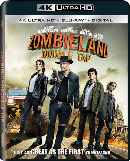 Zombieland: Double Tap - 4K UHD/Blu-ray/DVD Combo + DigitalZombieland: Double Tap - 4K UHD/Blu-ray/DVD Combo + Digital, , hi-res