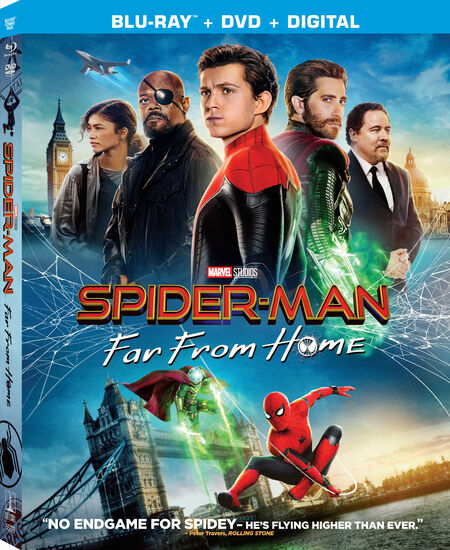 Spider-Man: Far From Home - BD/DVD Combo + DigitalSpider-Man: Far From Home - BD/DVD Combo + Digital, , hi-res