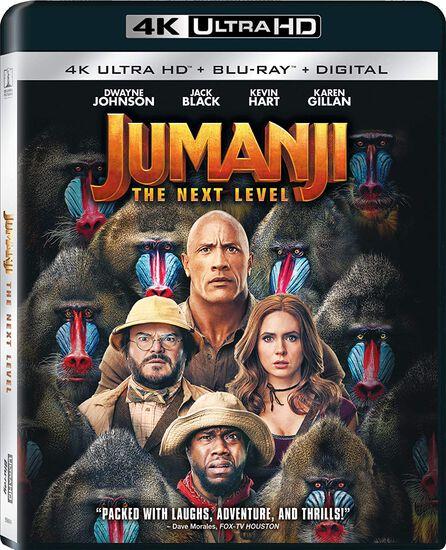 Jumanji: The Next Level - 4K UHD/Blu-ray/DVD Combo + DigitalJumanji: The Next Level - 4K UHD/Blu-ray/DVD Combo + Digital, , hi-res