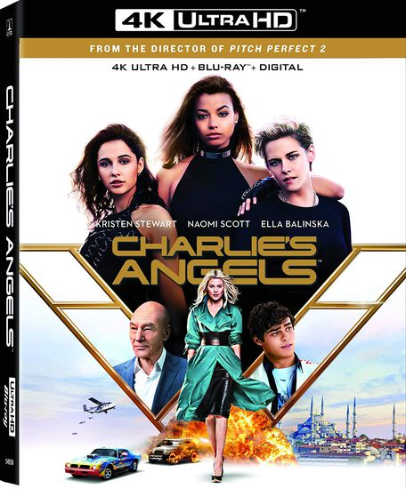 Charlie's Angels (2019) - 4K UHD/Blu-ray/DVD Combo + DigitalCharlie's Angels (2019) - 4K UHD/Blu-ray/DVD Combo + Digital, , hi-res