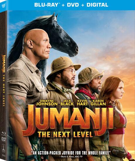 Jumanji: The Next Level - Blu-ray/DVD Combo + DigitalJumanji: The Next Level - Blu-ray/DVD Combo + Digital, , hi-res