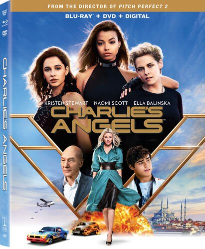 Charlie's Angels (2019) - Blu-ray/DVD Combo + Digital, , hi-res