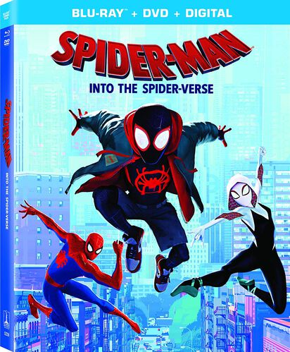 Spider-Man: Into The Spider-Verse - Blu-ray/DVD + Digital, , hi-res