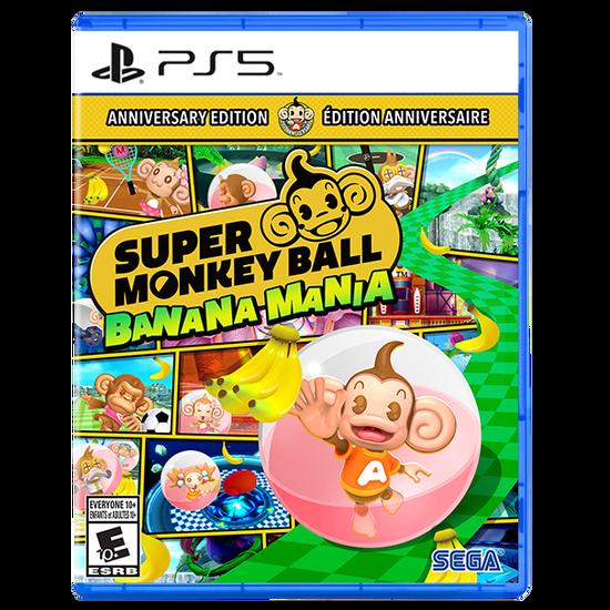 Super Monkey Ball Banana Mania ANNIVERSARY LAUNCH EDITION for PlayStation 5Super Monkey Ball Banana Mania ANNIVERSARY LAUNCH EDITION for PlayStation 5