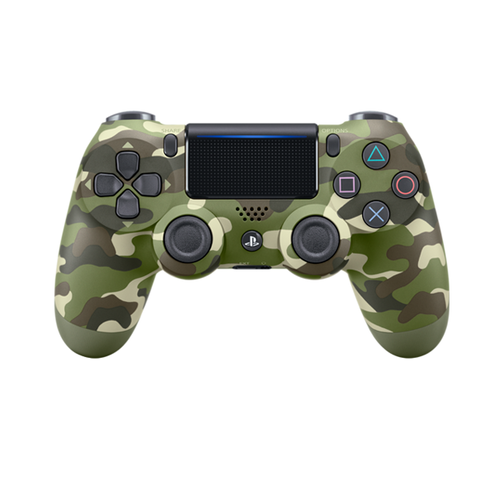 PS4 CONTROLLER D.SHOCK-GREEN CAMO
