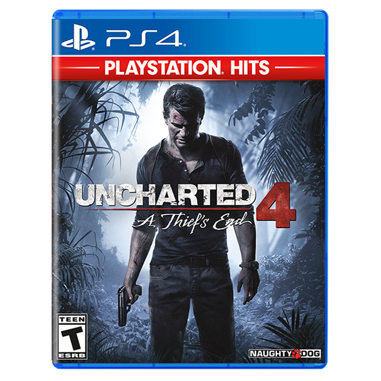 Uncharted 4: A Thief's End - Greatest Hits Edition for PlayStation 4Uncharted 4: A Thief's End - Greatest Hits Edition for PlayStation 4