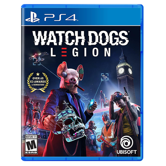 Watch Dogs Legion for PlayStation 4 Limited EditionWatch Dogs Legion for PlayStation 4 Limited Edition