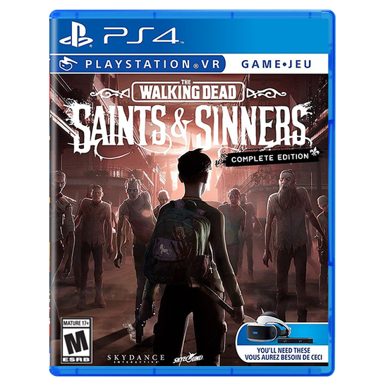 The Walking Dead: Saints and Sinners - Complete Edition for PlayStation VRThe Walking Dead: Saints and Sinners - Complete Edition for PlayStation VR