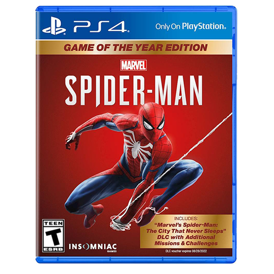 Spider-Man: Game of the Year EditionSpider-Man: Game of the Year Edition