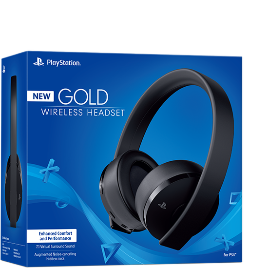 PS4 Wireless Stereo Headset - GoldPS4 Wireless Stereo Headset - Gold