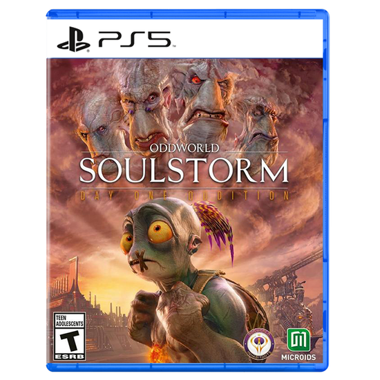 Oddworld: Soulstorm Day One Oddition for PlayStation 5Oddworld: Soulstorm Day One Oddition for PlayStation 5