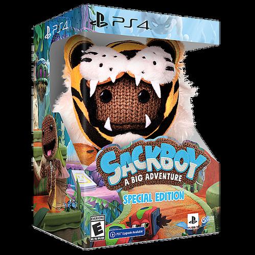 Sackboy: A Big Adventure Special Edition for PlayStation 4