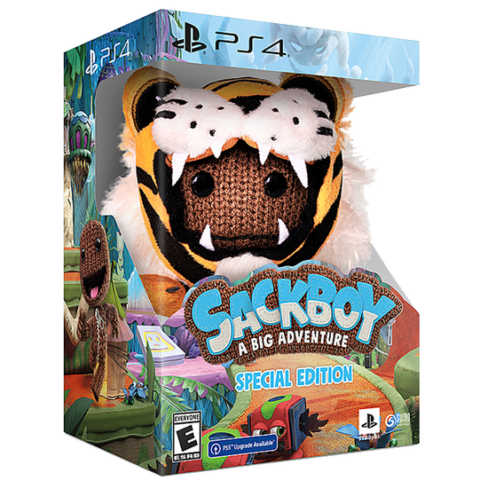 Sackboy: A Big Adventure Special Edition for PlayStation 4Sackboy: A Big Adventure Special Edition for PlayStation 4