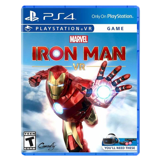 Marvel's Iron Man VR for PlayStation 4Marvel's Iron Man VR for PlayStation 4