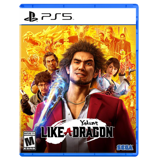 Yakuza: Like a Dragon for PlayStation 5Yakuza: Like a Dragon for PlayStation 5