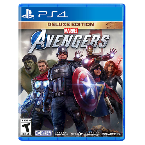 Marvel's Avengers Deluxe Edition for PlayStation 4