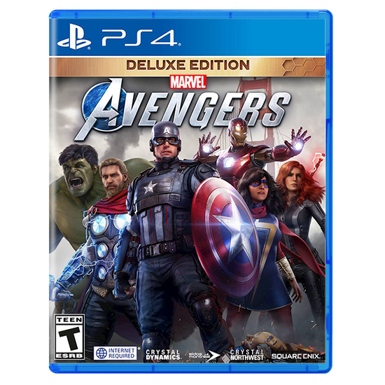 Marvel's Avengers Deluxe Edition for PlayStation 4Marvel's Avengers Deluxe Edition for PlayStation 4