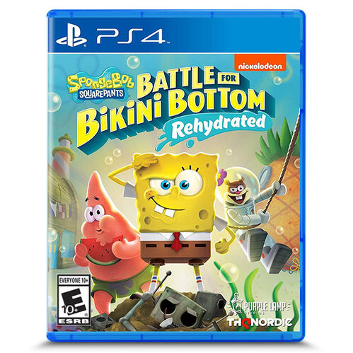 Spongebob Squarepants: Battle for Bikini Bottom - Rehydrated for PlayStation 4