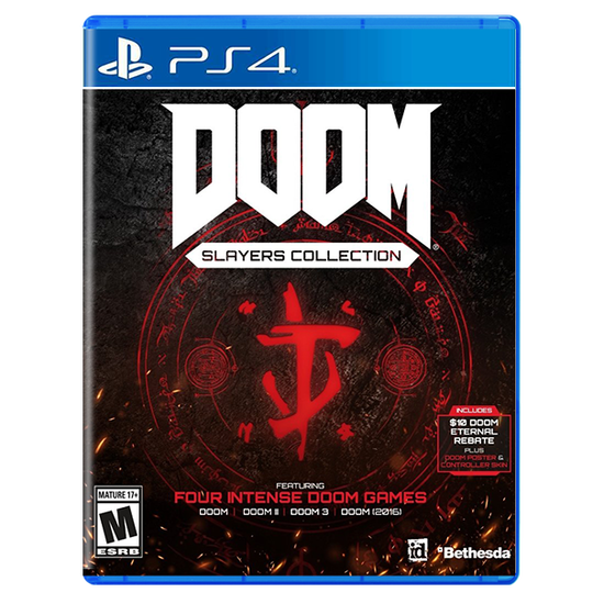Doom Slayers Club Collection for PlayStation 4Doom Slayers Club Collection for PlayStation 4