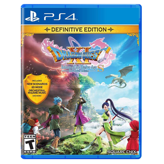 DRAGON QUEST XI S: Echoes of an Elusive Age - Definitive Edition for PlayStation 4DRAGON QUEST XI S: Echoes of an Elusive Age - Definitive Edition for PlayStation 4