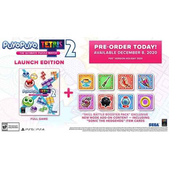 Puyo Puyo Tetris 2 for PlayStation 4Puyo Puyo Tetris 2 for PlayStation 4
