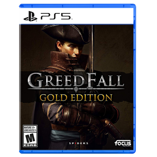 Greedfall: Gold Edition for PlayStation 5Greedfall: Gold Edition for PlayStation 5