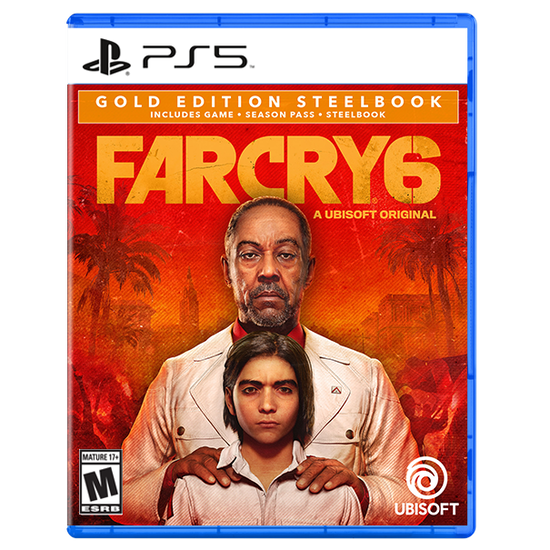 Far Cry 6 SteelBook Gold Edition for PlayStation 5Far Cry 6 SteelBook Gold Edition for PlayStation 5