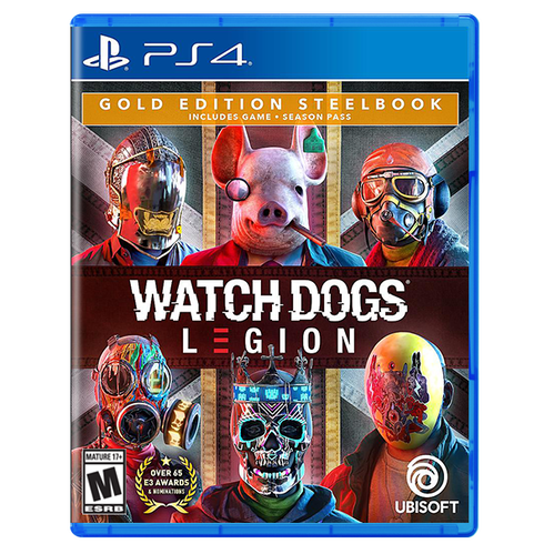 Watch Dogs Legion for PlayStation 4 Gold Steelbook Edition