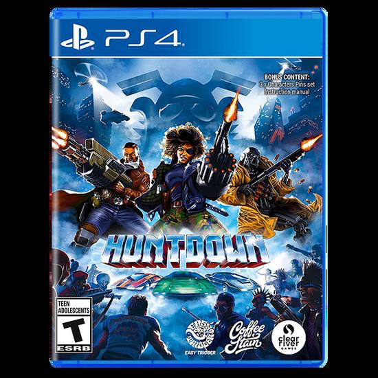 Huntdown Standard Edition for PlayStation 4Huntdown Standard Edition for PlayStation 4