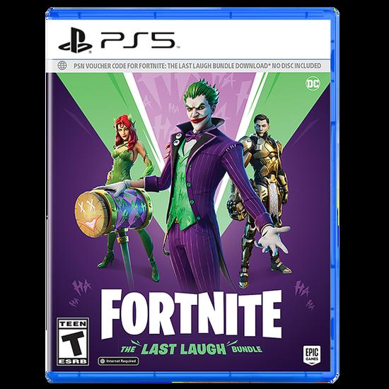 Fortnite: The Last Laugh Bundle for PlayStation 5Fortnite: The Last Laugh Bundle for PlayStation 5