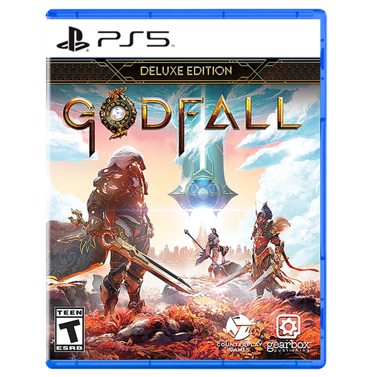 Godfall: Deluxe Edition for PlayStation 5Godfall: Deluxe Edition for PlayStation 5