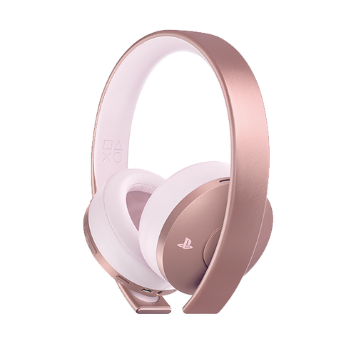 PlayStation 4 Gold Wireless Stereo Headset - Rose Gold Edition