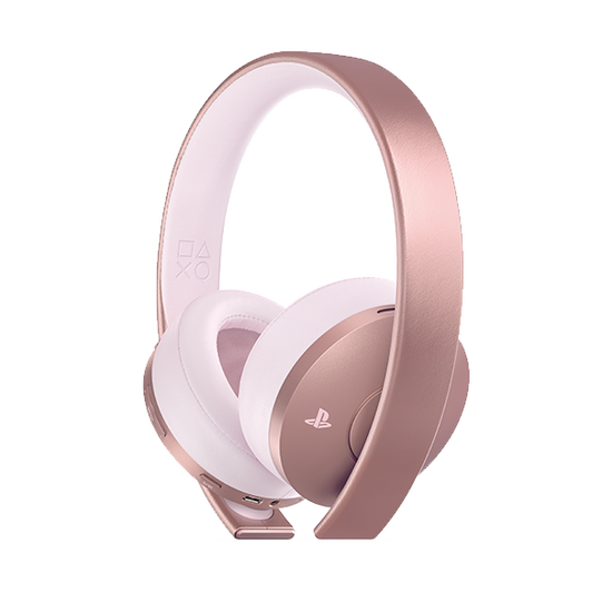 PlayStation 4 Gold Wireless Stereo Headset - Rose Gold EditionPlayStation 4 Gold Wireless Stereo Headset - Rose Gold Edition