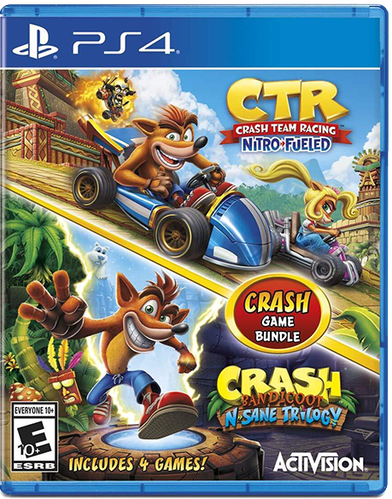 Crash Bandicoot Bundle: N. Sane Trilogy + CTR Nitro-Fueled