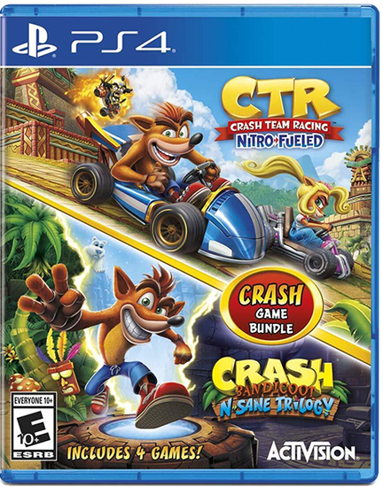 Crash Bandicoot Bundle: N. Sane Trilogy + CTR Nitro-FueledCrash Bandicoot Bundle: N. Sane Trilogy + CTR Nitro-Fueled