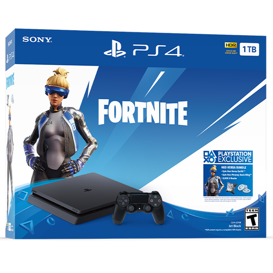 PS4 System: Fortnite Neo Versa BundlePS4 System: Fortnite Neo Versa Bundle