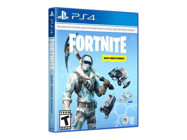 PS4 Fortnite: Deep Freeze BundlePS4 Fortnite: Deep Freeze Bundle