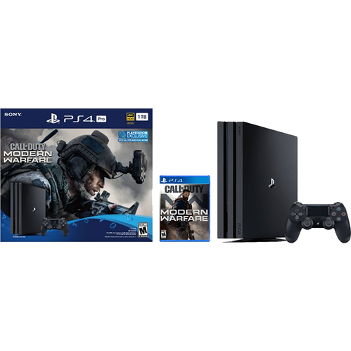 PS4 Pro 1TB - Call of Duty: Modern Warfare Bundle
