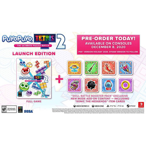 Puyo Puyo Tetris 2 for PlayStation 5
