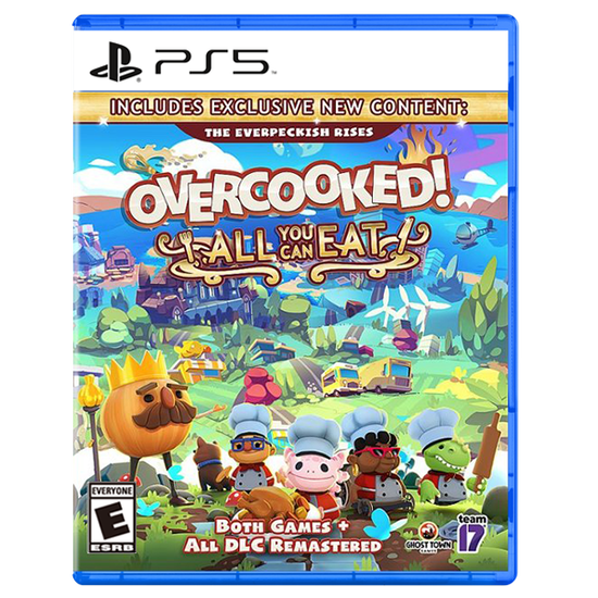Overcooked! All You Can Eat for PlayStation 5Overcooked! All You Can Eat for PlayStation 5