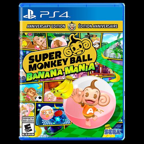 Super Monkey Ball Banana Mania ANNIVERSARY LAUNCH EDITION for PlayStation 4