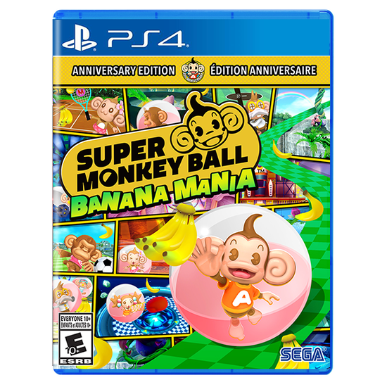 Super Monkey Ball Banana Mania ANNIVERSARY LAUNCH EDITION for PlayStation 4Super Monkey Ball Banana Mania ANNIVERSARY LAUNCH EDITION for PlayStation 4