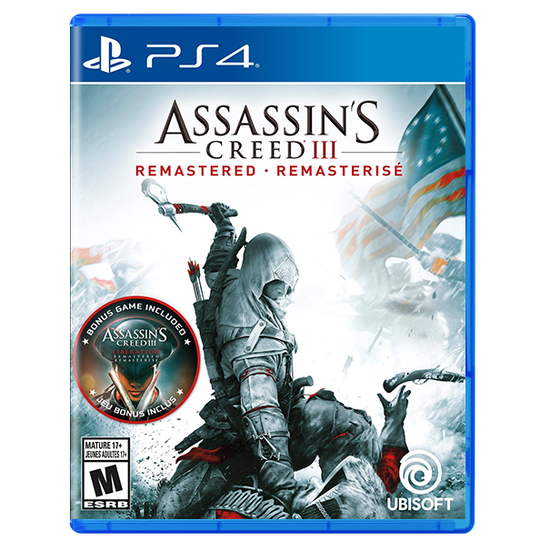 Assassin's Creed III: Remastered for PlayStation 4Assassin's Creed III: Remastered for PlayStation 4