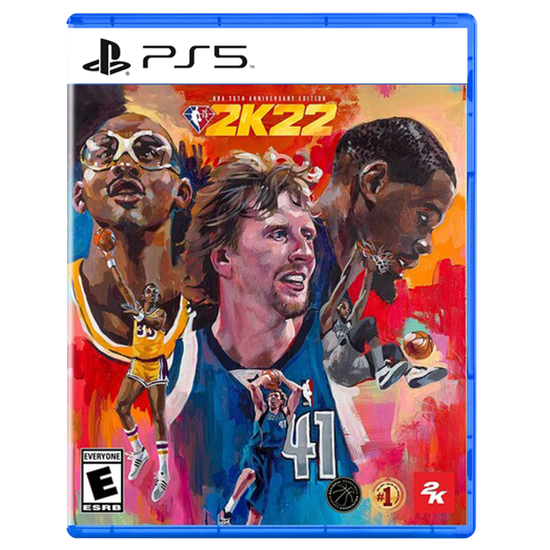 NBA 2K22 75th Anniversary for PlayStation 5NBA 2K22 75th Anniversary for PlayStation 5