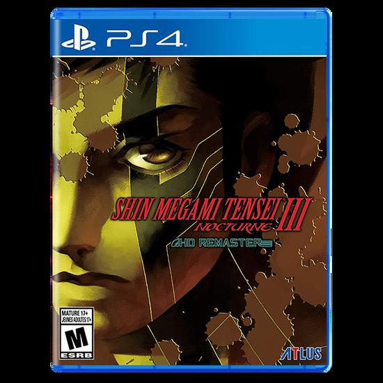 Shin Megami Tensei III: Nocturne HD Remaster for PlayStation 4Shin Megami Tensei III: Nocturne HD Remaster for PlayStation 4