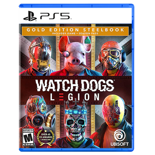 Watch Dogs: Legion SteelBook Gold Edition for PlayStation 5