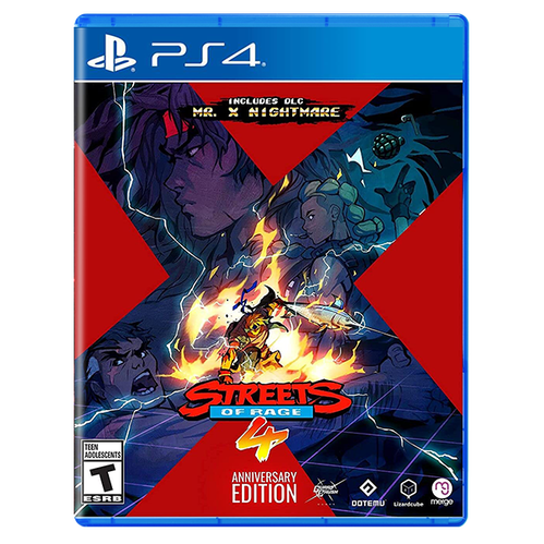 Streets of Rage 4 - Anniversary Edition for PlayStation 4